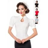 Jersey-Bluse weiß - AT50056 - Bild 5