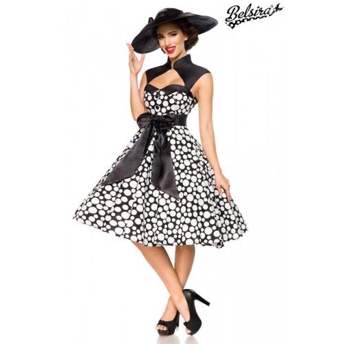 Vintage-Kleid schwarz/weiß - AT50096 - Bild 1