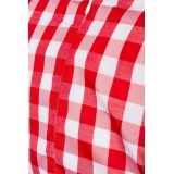 Traditionelles Minidirndl rot/blau/weiß - AT70003 - Bild 4