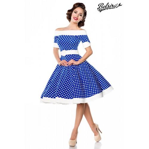 schulterfreies Swing-Kleid - 50051 - Bild 1