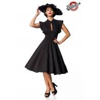 Belsira Premium Vintage-Kleid schwarz - 50152 - Bild 1