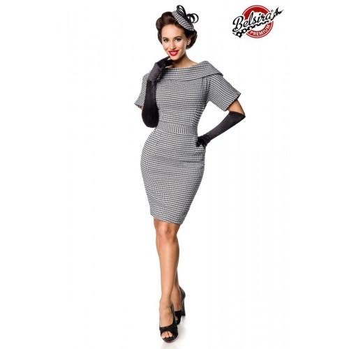 Belsira Premium Vintage-Kleid grau - 50149 - Bild 1
