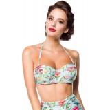 Vintage Bikinioberteil blau/pink/grün - 50114 - Bild 4 Vorschau