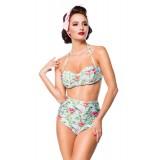 Vintage Bikinioberteil blau/pink/grün - 50114 - Bild 12 Vorschau