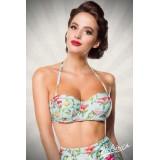 Vintage Bikinioberteil blau/pink/grün - 50114 - Bild 13 Vorschau