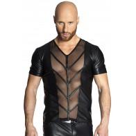 schwarzes Shirt H029 von Noir Handmade - Bild 1