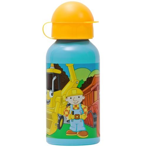 Bob der Baumeister - Blaue Aluminium Trinkflasche - Bild 1