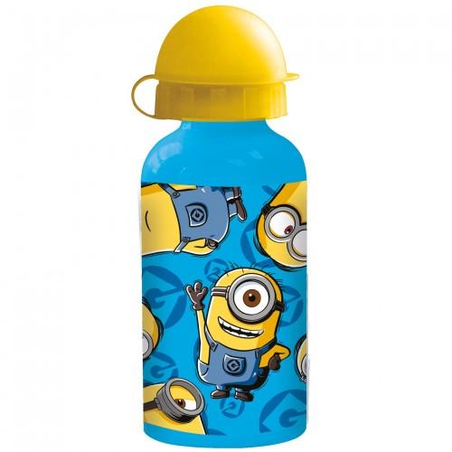 MINIONS - Blaue Aluminium Trinkflasche für Kinder - Bild 1