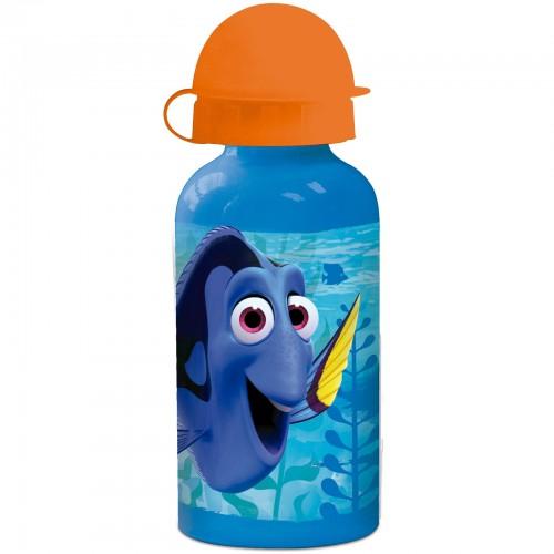 Findet Dorie - Blaue Aluminium Trinkflasche für Kinder - Bild 1