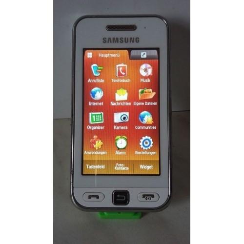 Samsung Star GT-S5230 - Snow White Bild 1