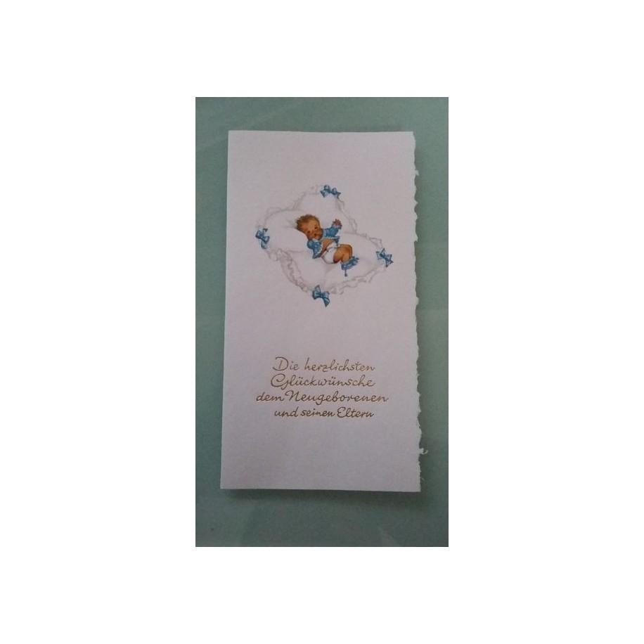 Glückwunschkarte zur Geburt GK-001019 - Bild 1