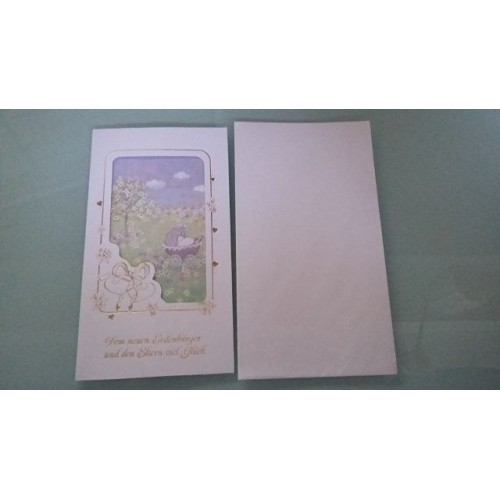 Glückwunschkarte zur Geburt GK-001013 - Bild 1