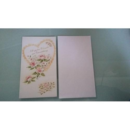 Glückwunschkarte zur Hochzeit - Vermählung GK-001011 - Bild 1