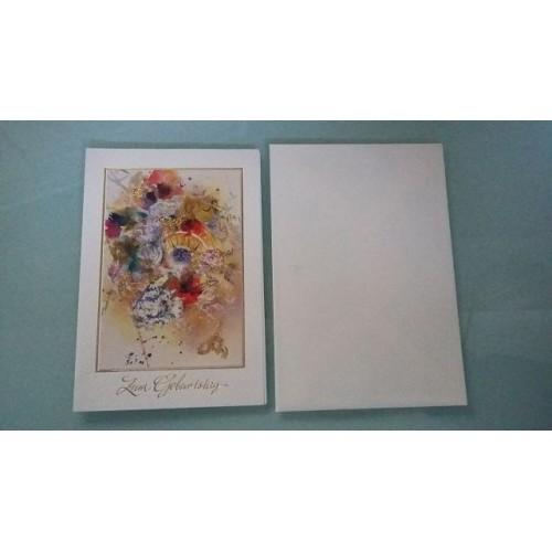 Glückwunschkarte zum Geburtstag - Geburtstagskarte GK-001007 - Bild 1